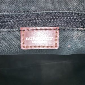 Burberry Bags - Authentic Burberry haymarket mini shopper tote bag